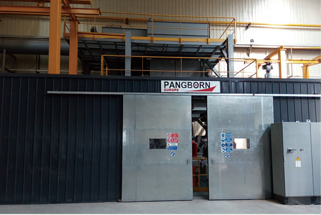 潘邦清理机/PANGBORN Shot Blasting Machine